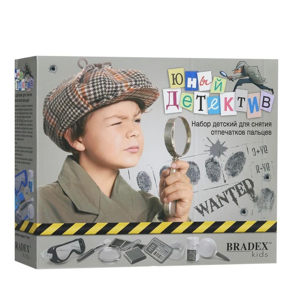 Набор детский для снятия отпечатков пальцев — Юный детектив