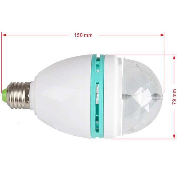 Вращающаяся диско лампа LED от MELEON