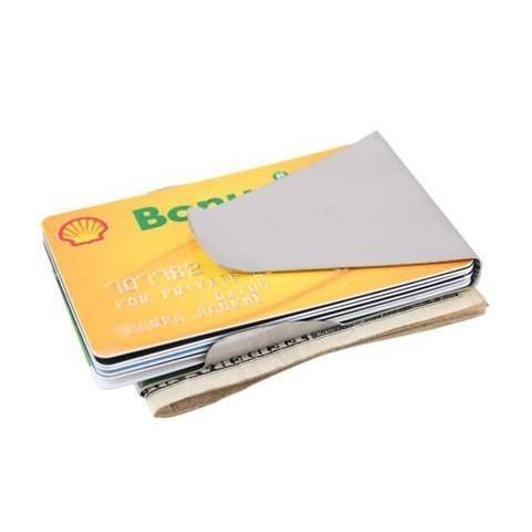 Зажим для денег Slip Clip - для купюр и картЗажимы для купюр<br>Металлический зажим для денег Slip Clip научит вас грамотно хранить бумажные купюры и важные банковские карты. Все необходимое будет под надежной защитой от любых раздражителей и банального износа!<br>