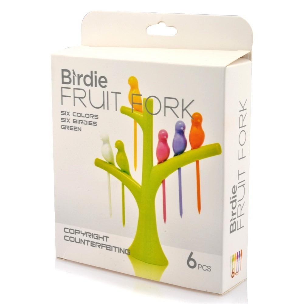 Шпажки для канапе на подставке Birdie Fruit Fork
