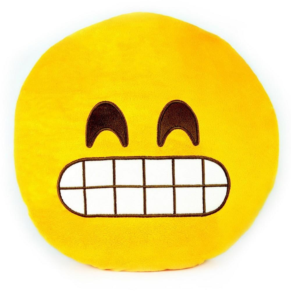 Подушка emoji (эмоджи) — Оскал