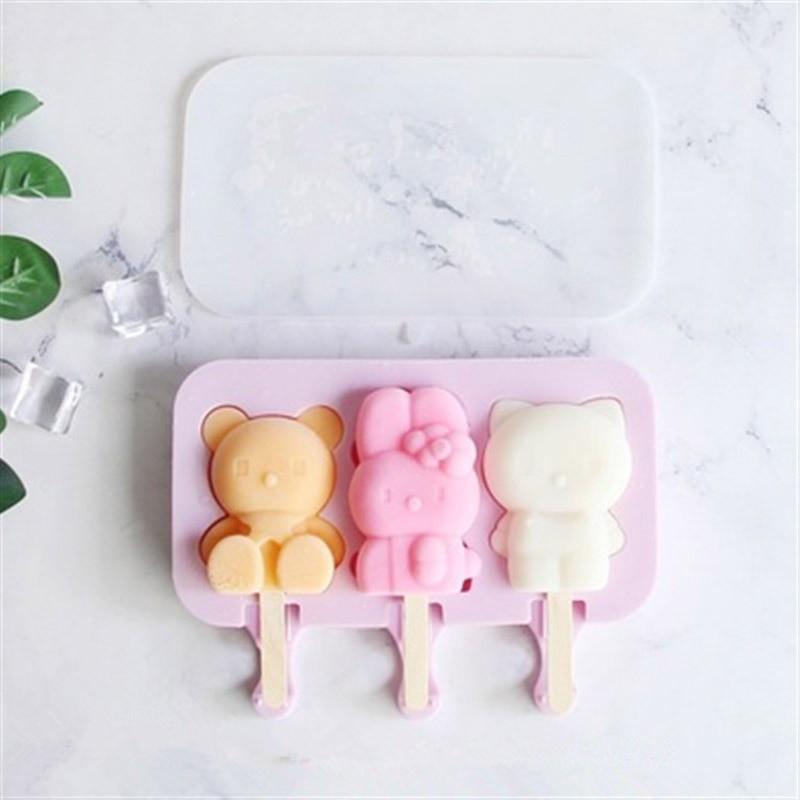 Тройная форма для мороженого - Игрушки
