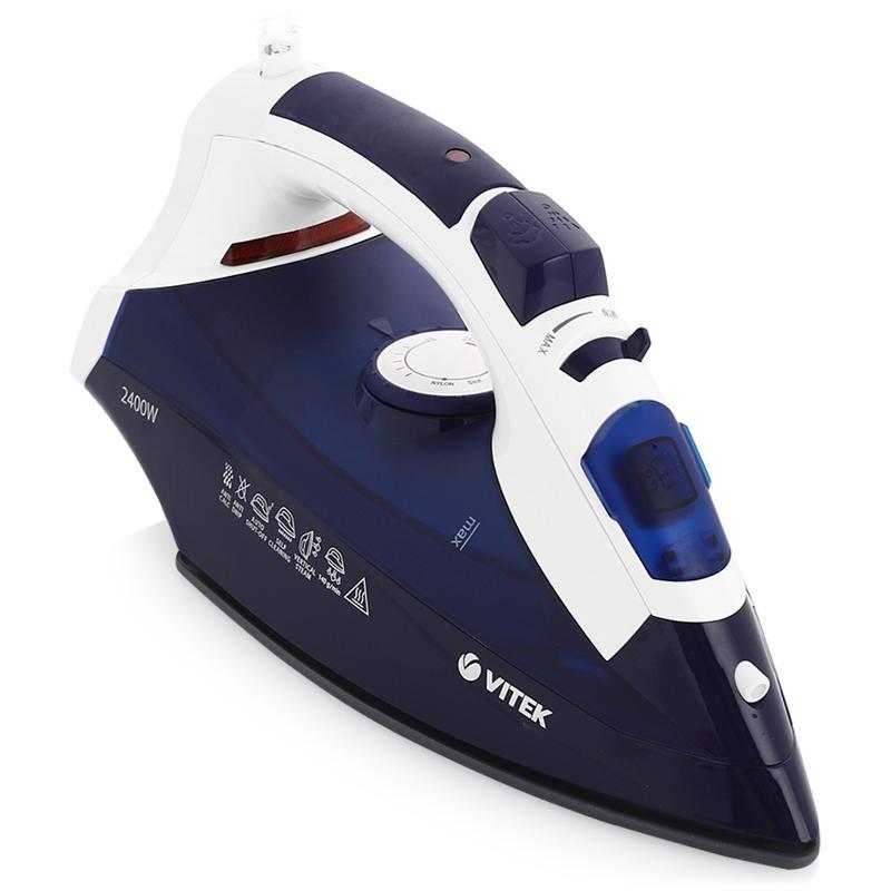 Утюг + мешок для стирки (2400 Вт) Vitek VT-1245P+мешок для стирки