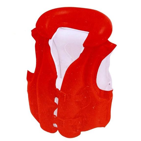 Жилет надувной Делюкс 49х46 см, от 3 до 6 летДля отдыха на воде<br>Надувной страховочный жилет надувной Делюкс 49х46 см пригодится Вашему ребенку во время обучения плаванию. Жилет можно использовать как на море, речке, так и в бассейне.<br>