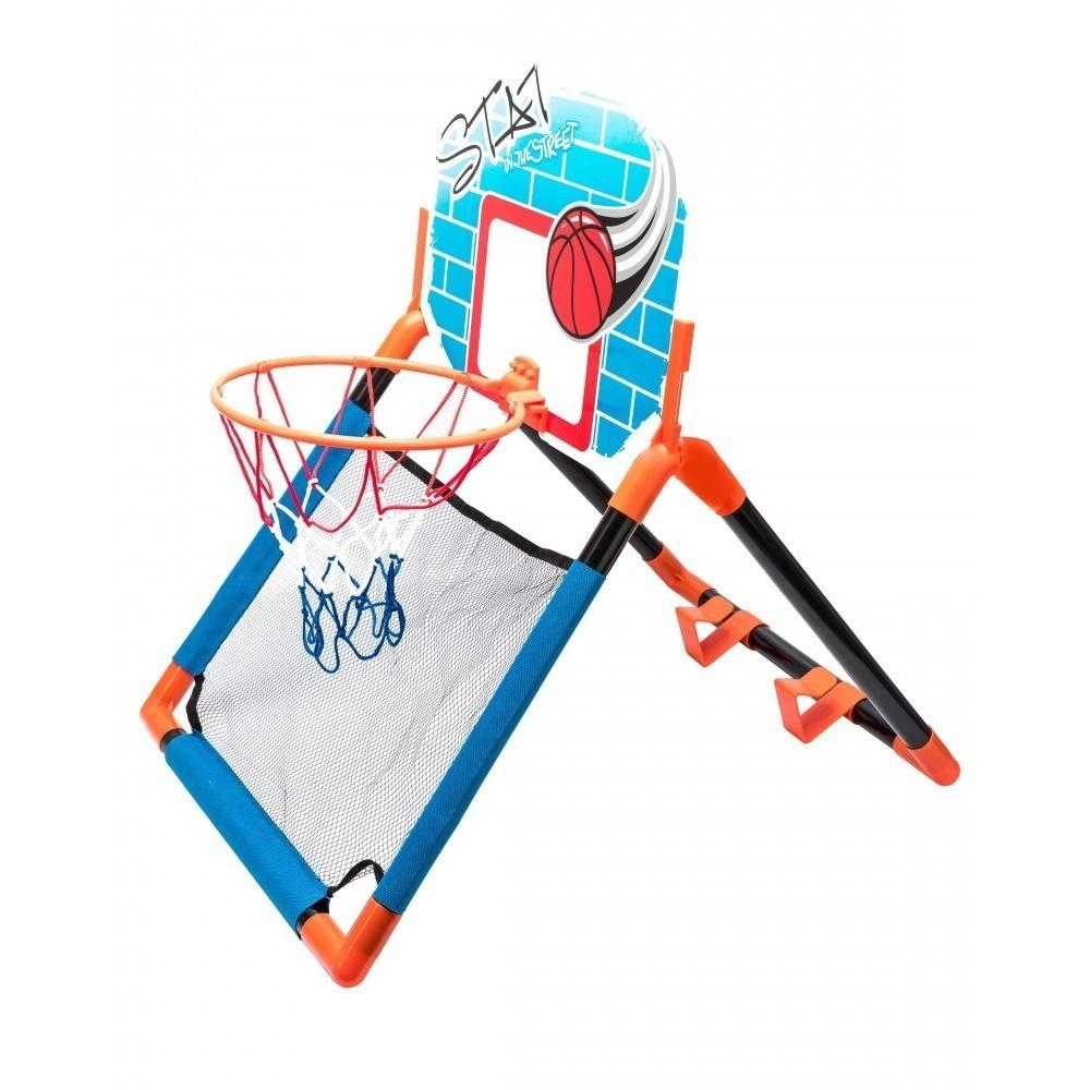 Купить Баскетбольный щит 2 в 1 с креплением на дверь, Подвижные игры