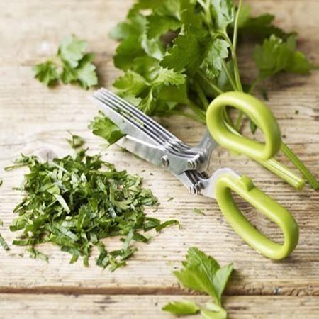 Ножницы для нарезки зелени - 5 лезвий от MELEON