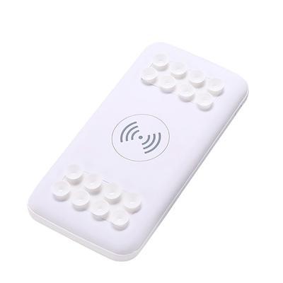 Беспроводная зарядка для телефона на присоске 10000 mAh, белый