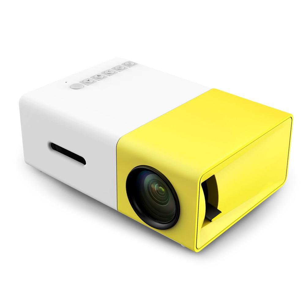 LED проектор Aao YG300 портативный переносной фото