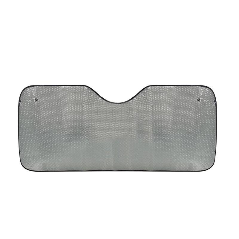 Экран солнцезащитный на лобовое стекло Phantom PH5609Солнцезащитные экраны<br>Страдаете от духоты в салоне автомобиля летом? Спрятаться от коварных прямых солнечных лучей вам позволит экран солнцезащитный на лобовое стекло Phantom PH5609. Также аксессуар надежно защитит приборную панель машины от выцветания и растрескивания!<br>