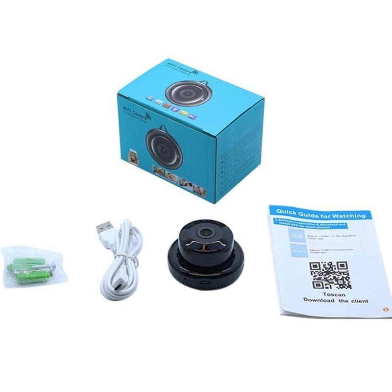 Цифровая мини P2P IP видеокамера STR-GSM V380