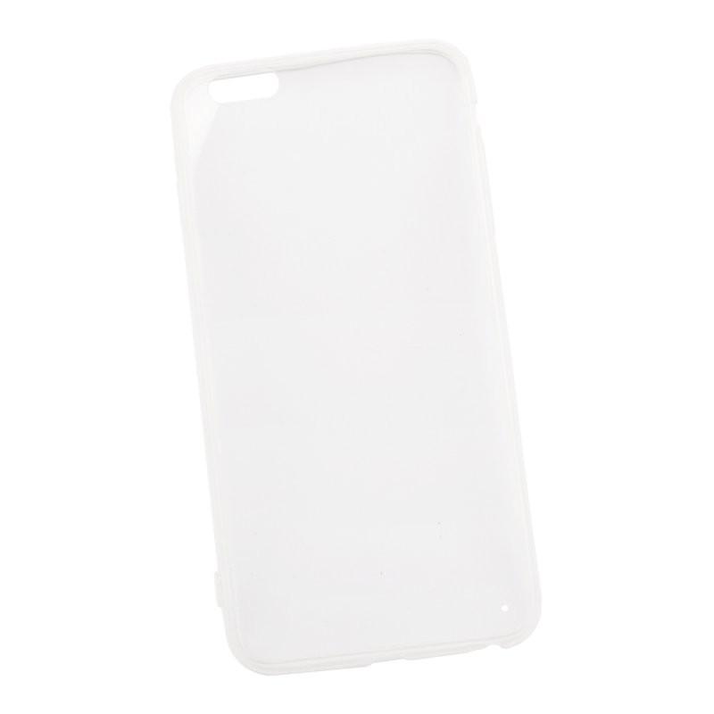Защитная крышка «LP» для iPhone 6/6s Plus силиконовый кант (прозрачная) европакет