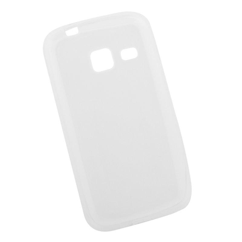Силиконовый чехол «LP» для Samsung Galaxy J1 mini 2016 TPU (прозрачный) европакет