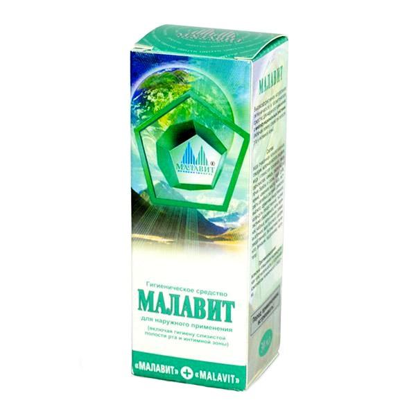 Малавит - гигиеническое средство, 30млОстальное<br>Если вы хотите купить универсальное средство, которое станет лучшей профилактикой грибка, оперативно исцелит любые раны и окажет противовоспалительное действие, то вы не зря попали на сайт интернет магазина Мелеон. Гигиеническое средство «Малавит» - это настоящая инновация для тех людей, которые выбирают грамотную заботу о себе!<br>