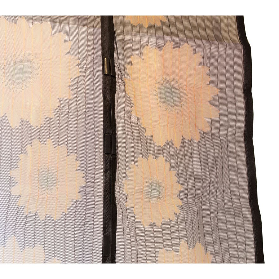 Москитная сетка с подсолнухами — Magic Mesh Sunflower, 18 магнитов