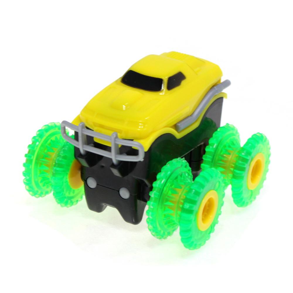 Машинка Монстр-трак Trie Trul, Желтый фото