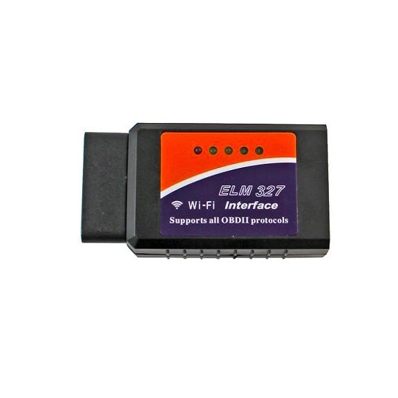Адаптер ELM Wi-Fi 327 - Apple, AndroidУстройства для диагностики<br>Вы сможете в любой момент узнать параметры своего любимого средства передвижения,благодаря адаптеру ELM Wi-Fi 327. Забудьте о тратах в специализированных салонах, ведь вся необходимая информация будет попадать к Вам в любой необходимый момент!<br>