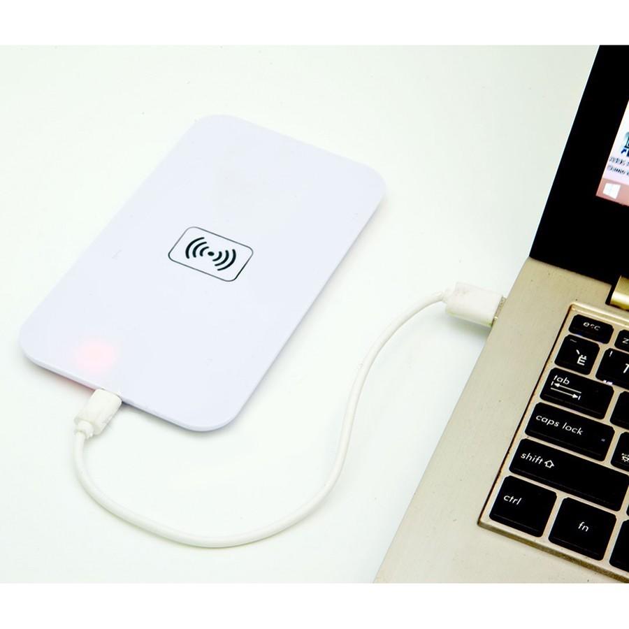 Беспроводное зарядное стандарта Qi для IPhone, белый