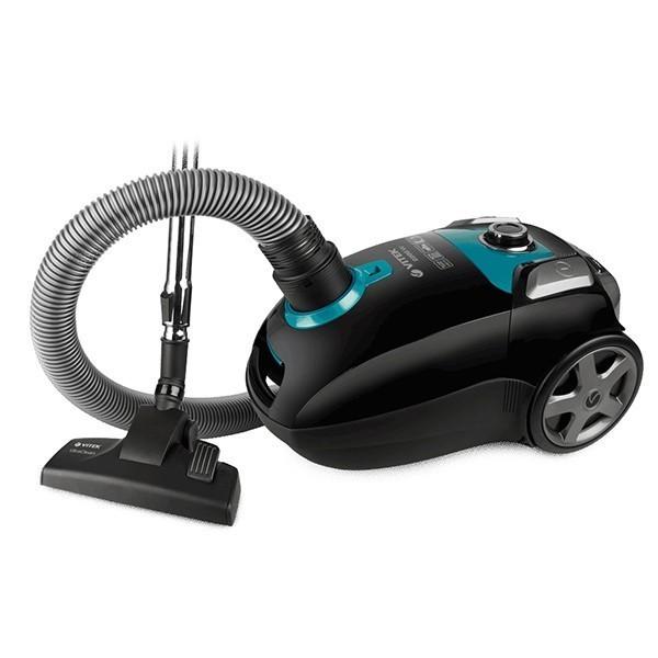 Пылесос Vitek (объем пылесборника 4 л) VT-1898(BK)Пылесосы и фильтры к ним<br>Пылесос VT-1898 BK станет настоящим подспорьем, если вы планируете генеральную уборку дома. Отличительной особенностью данной модели является широкое отверстие для всасывания воздуха – 45 мм и низкий уровень шума. Устройство работает практически беззвучно: уровень шума составляет всего 69 дБ<br>