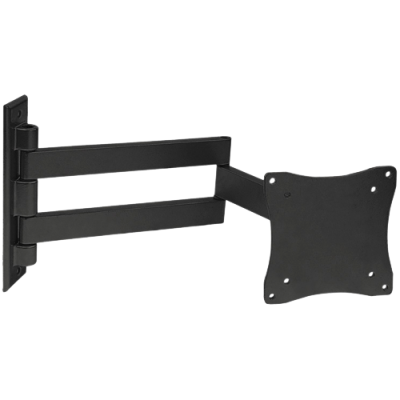 Кронштейн arm media 7101-LCD silverКронштейны<br>Наклонно-поворотный настенный кронштейн для ТВ с диагональю 10».26» и весом до 15 кг.<br>