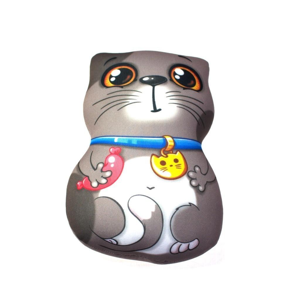 Мягкая игрушка-антистресс - Кот-обжоркаИгрушки Антистресс<br>Если ваше чадо любит всевозможные новинки-антистрессы в детских игрушках, то обязательно познакомьте ребенка с мягкой игрушкой-антистресс «Кот-обжорка». Милый зверек в сарделькой в руке обеспечит море положительных эмоций, а в нужной ситуации поможет расслабиться и забыть о чем-то плохом!<br>