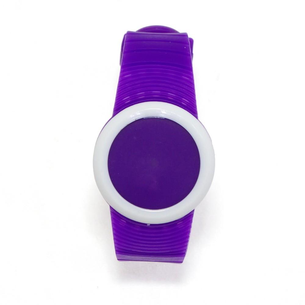 Ультратонкие силиконовые LED часы Nexer G1218, Фиолетовый