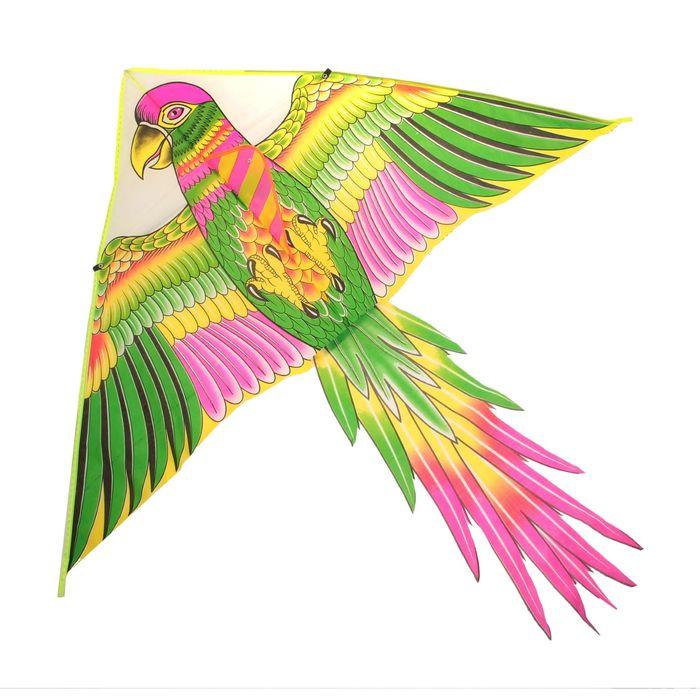 Купить Воздушный змей - Птица, с леской, Подвижные игры