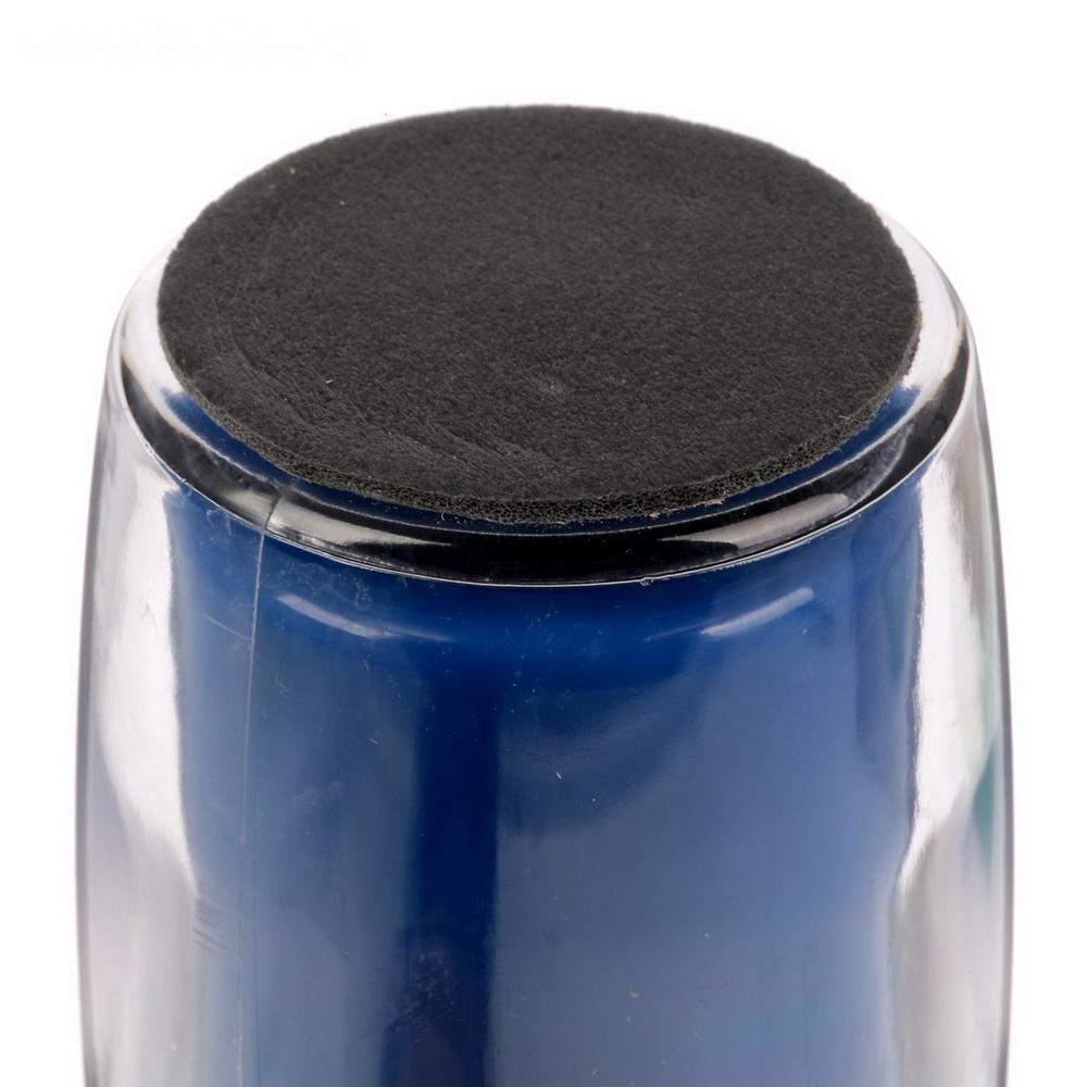 Термостакан под полиграфическую вставку, 350 мл, цвет в ассортименте, синий