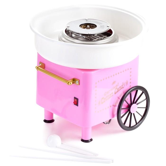 Аппарат для приготовления сладкой сахарной ваты Cotton Candy MakerДругая техника для кухни<br>Если ваш ребенок знает, что сахарная вата – это лакомство, которое доступно только в знойную пору года в парках развлечений, то почему бы не подарить ему такую радость в любое время дома? Аппарат для приготовления сладкой сахарной ваты Cotton Candy Maker не только порадует сладкоежку, но и станет настоящим гвоздем программы на любой вечеринке!<br>