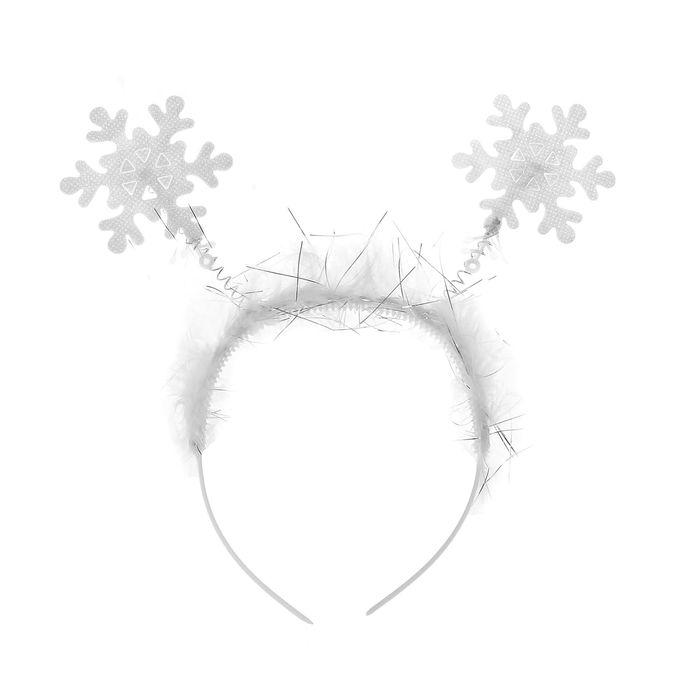Купить Карнавальный ободок - Снежинки, Товары для вечеринки