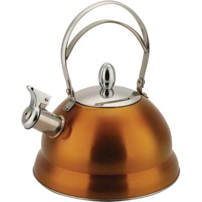 Чайник металлический 2,7л DeLuxe  Bekker BK-459SЧайники металлические<br>Стильный чайник металлический 2,7л DeLuxe Bekker BK-459S в цветном корпусе станет настоящей находкой для ценителей сочетания элегантного современного дизайна, долговечности и привлекательной цены!<br>