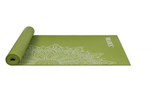 Коврик для йоги 173*61*0,4 с рисунком - Флауэр