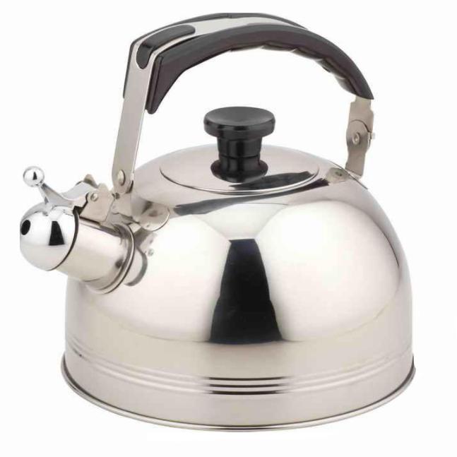 Чайник TECO 3,0л нержавеющая стальЧайники металлические<br>Чайник оборудован свистком для определения закипания воды и изготовлен из высококачественной нержавеющей стали. Капсульное дно распределяет тепло равномерно по всей поверхности, что обеспечивает быструю скорость закипания.<br>