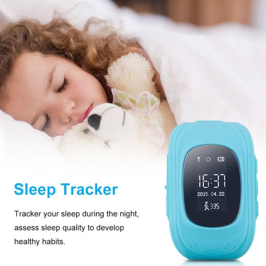 Детские часы GPS трекер Smart Baby Watch Q50 - синие от MELEON