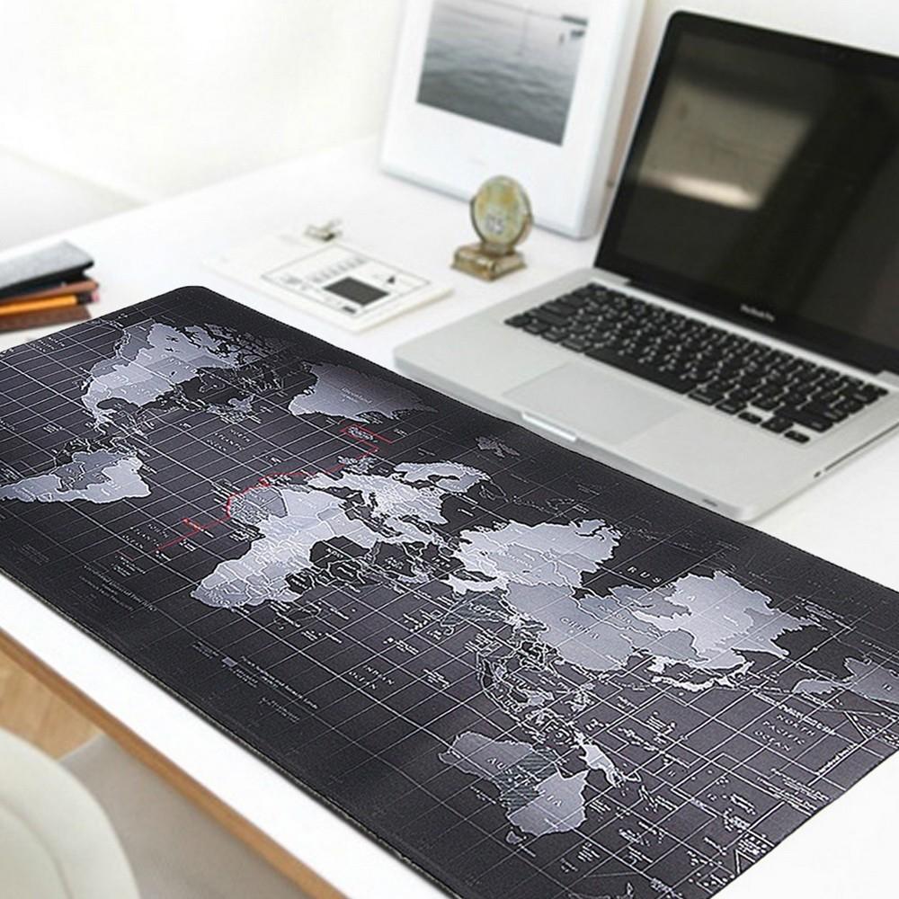 Большой коврик для мыши - Карта Мира - 90х40 см
