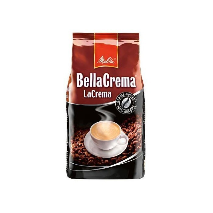Кофе в зернах «BC La Crema» 1кг Melitta 1810Кофе<br>Мягкий, ароматный кофе для приготовления большой чашки с ароматной пенкой, чтобы Вы могли насладиться кремовым вкусом натурального кофе.<br>