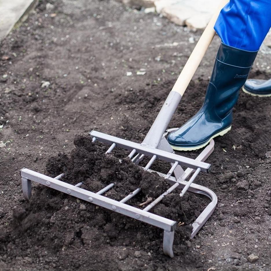Чудо-лопата, рыхлитель - Крот-М (ширина копки 420мм) от MELEON