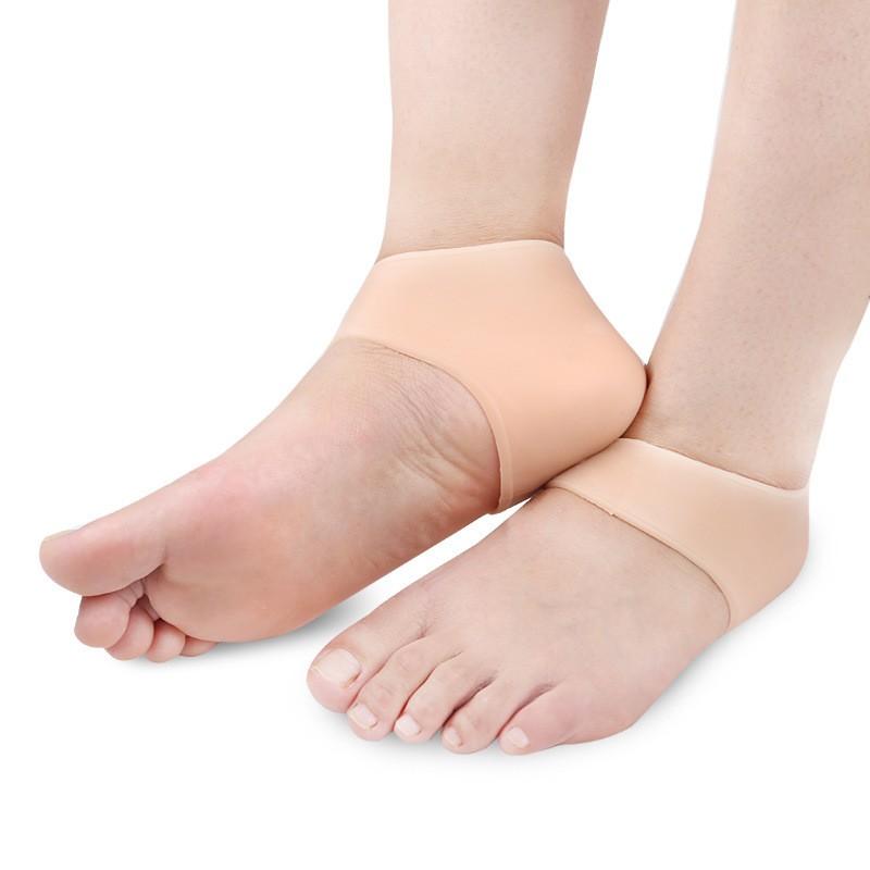 Силиконовые носочки для пяток Heel Anti-Crack Sets, ,
