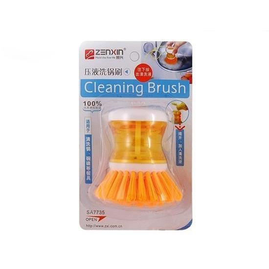 Щетка для мытья посуды с емкостью для моющего средства от MELEON