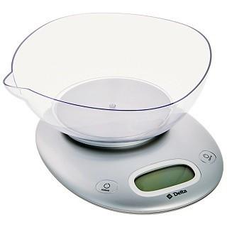 Весы настольные электронные DELTA KCE-34 серебро