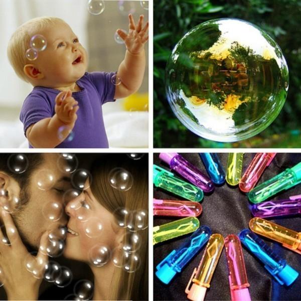 Купить Нелопающиеся немыльные пузыри Touchable Bubbles, цвет микс, Остальные игрушки