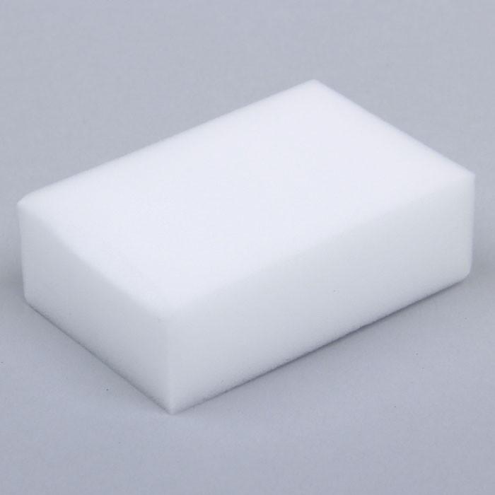 Губка меламиновая для удаления пятен, 9х6х3 см