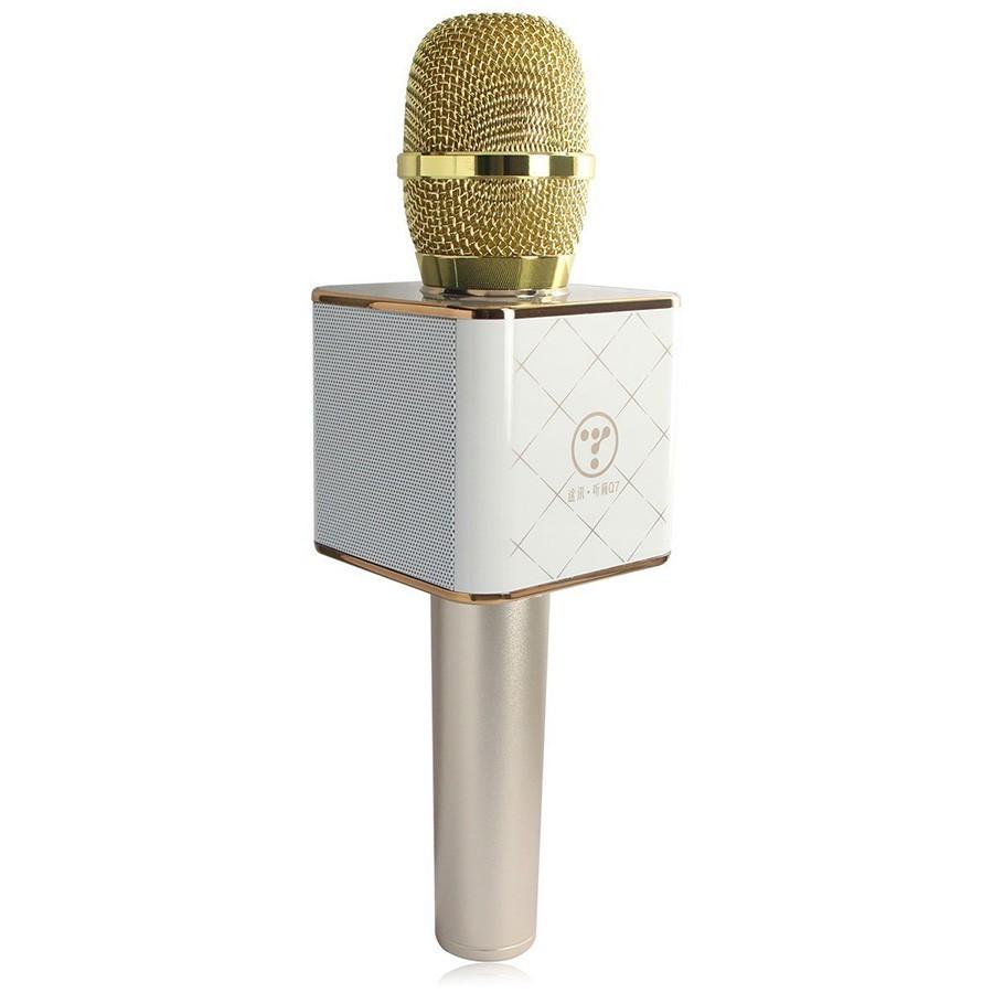 Беспроводной караоке микрофон Tuxun Q7 - ЗолотойОстальные гаджеты<br>Любите петь и танцевать? Беспроводной караоке микрофон Tuxun Q7 – Gold подарит вам максимум удовольствия в домашних условиях. Теперь можно собираться с друзьями в уютной и комфортной атмосфере!<br>
