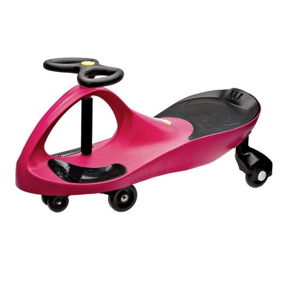 Машинка-бибикар Plasmacar (Плазмакар) - краснаяПодвижные игры<br>Представляем вашему вниманию новую, потрясающую игрушку без педалей, мотора и батареек, которая называется машинка PlasmaCar! Игрушка работает по принципу использования центробежной силы и законов гравитации. Вам же остается только крутить руль влево и вправо, разгоняясь до 10 километров в час.<br>