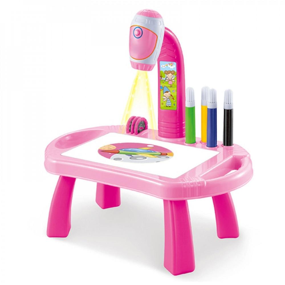 Детский проектор для рисования со столиком, Для девочек, Для рисования  - купить со скидкой