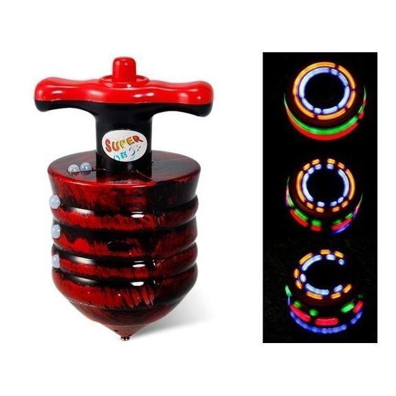 Удивительный волчок с разноцветными огнямиОстальные игрушки<br>Подарите деткам радость! Удивительный волчок с разноцветными огнями – это новое воплощение советской юлы с веселой музыкой и фонариками. Великолепное развлечение для деток от 3-х лет.<br>