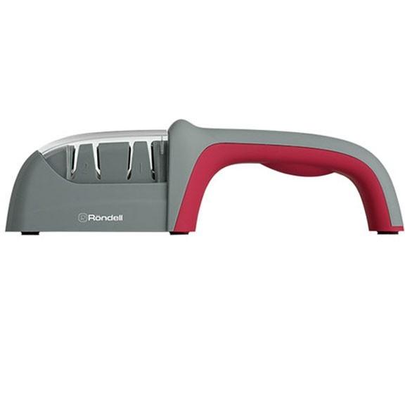 Точилка для ножей Rondell RD-323Точилки для ножей<br>Приготовление пищи превращается в настоящие муки из-за тупых ножей? Мы знаем, как вам помочь. Комфортное использование, простота, миниатюрные размеры, высокая эффективность – все это синонимы точилки для ножей Rondell RD-323!<br>