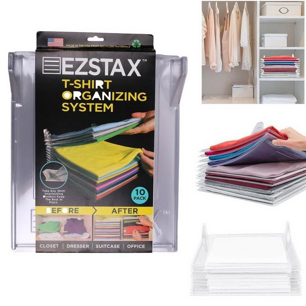 Органайзер для одежды Ezstax (10 штук)