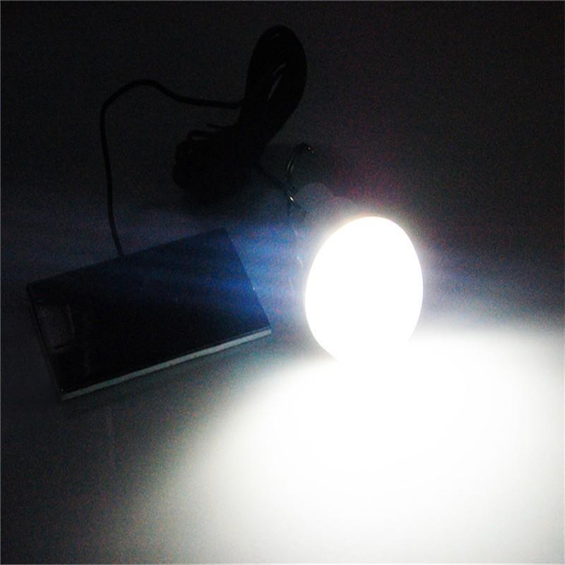 Лампа на солнечной батарее - светодиодная с аккумулятором