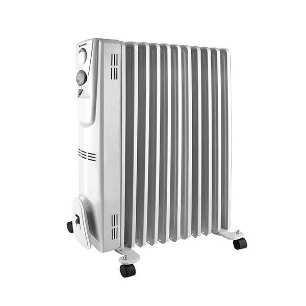 Радиатор Vitek на 11 секций VT-1710(W)Радиаторы и обогреватели<br>Радиатор Vitek VT-1710 W – это масляный обогреватель, который можно использовать как в жилых, так и в офисных помещениях. Эта модель работает совершенно бесшумно, быстро нагревается, поддерживает заданную температуру воздуха благодаря встроенному термостату и не требует сложного ухода.<br>