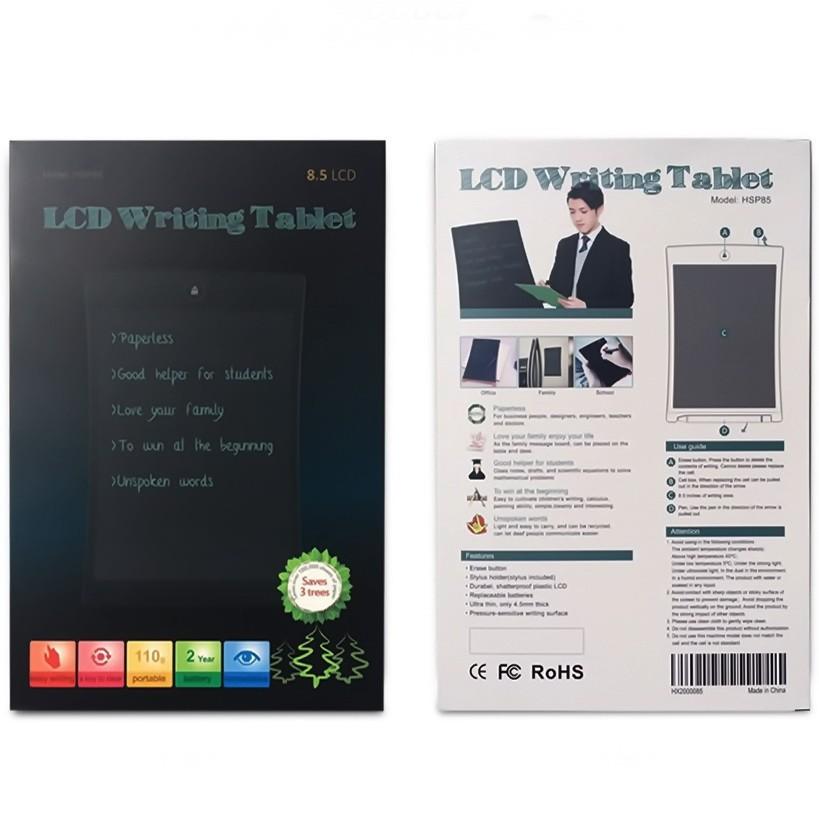 Планшет для заметок LCD Writing TabletОстальное<br>Если из-за своей работы вам постоянно приходить носить с собой повсюду блокноты и папки с бумагами, то пора срочно менять эту печальную традицию! Знакомьтесь с инновационным планшетом для заметок LCD Writing Tablet! Из данных планшета никогда не пропадут важные данные, нужные номера телефонов или другая информация!<br>